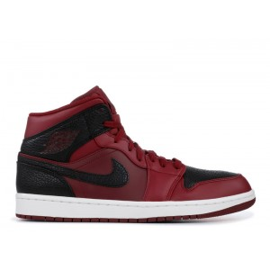 Air Jordan 1 Mid Reverse Banned 554724 601