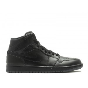 Air Jordan 1 Mid Black 554724 021