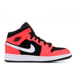 Air Jordan 1 Mid Infrared 23 Womens 554725 061