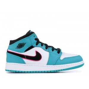 Air Jordan 1 Mid SE South Beach GS Women's BQ6931 306