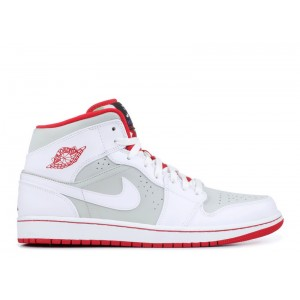 Air Jordan 1 Mid WB Hare Mens 719551 123