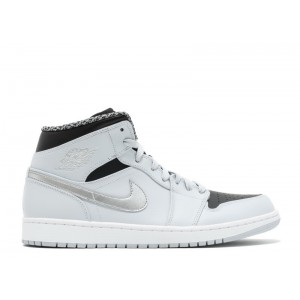 Air Jordan 1 Mid Wolf Grey 554724 032