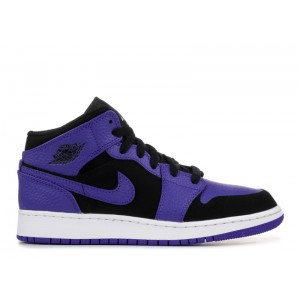 Air Jordan 1 Retro Mid Purple GS 554725 051