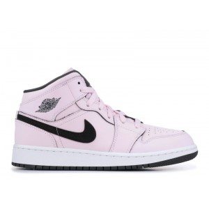 Air Jordan 1 Mid Pink Foam Women's 555112 601