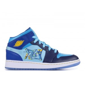 Air Jordan 1 Mid GS Fly bv7446 400 For Sale