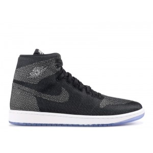 Air Jordan 1 MTM Black/Silver-White 802399 001