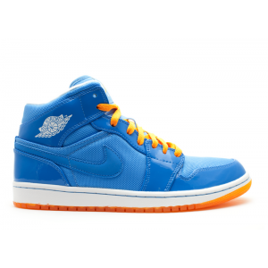 Air Jordan 1 Phat Mid Italy Blue 364770 403