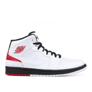 Air Jordan 1 Retro 86 White Gym Red Mens 644490 101