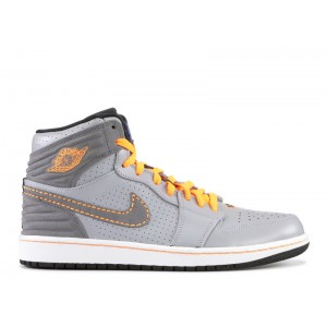 Air Jordan 1 Retro 93 Wolf Grey Orange 580514 045