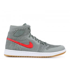 Air Jordan 1 Retro High Flyknit Clay Green 919704 333