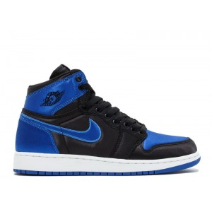Air Jordan 1 Retro Hi OG Royal Satin BG GS AA4073 007