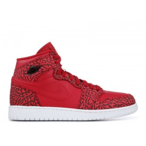 Air Jordan 1 Retro High Prem Red Elephant BG 838850 600