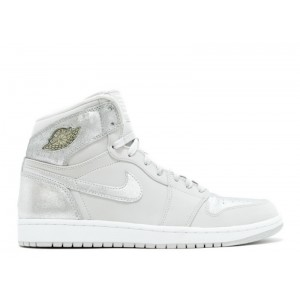 Air Jordan 1 Retro Hi Silver 25th Anniversary Men's 396009 001