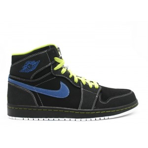 Air Jordan 1 Retro High Black Cyber 332550 005