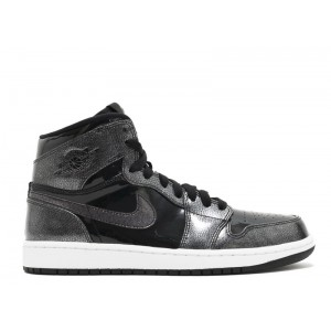 Air Jordan 1 Retro High Black Patent 332550 017
