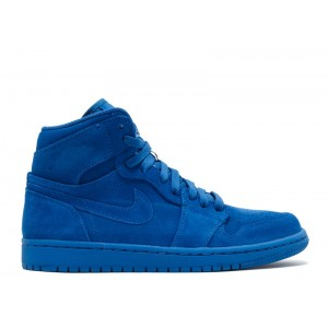 Air Jordan 1 Retro High Blue Suede 332550 404