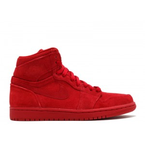 Air Jordan 1 Retro High Red Suede 332550 603