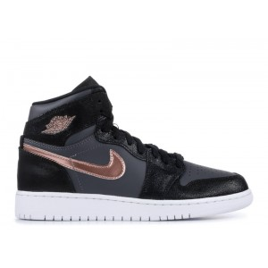 Air Jordan 1 Retro High Bg Black Metallic Red Bronze 705300 006 Sale Online