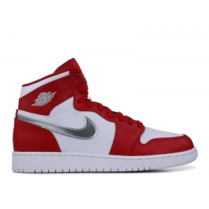 Air Jordan 1 Retro High Bg Silver Medal 705300 602 Sale Online