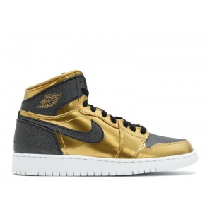 Online Sale Air Jordan 1 Retro High BHM Gg GS Black History Month 909805 700