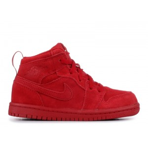 Air Jordan 1 Retro High OG Toddler BT Gym Red 705304 603