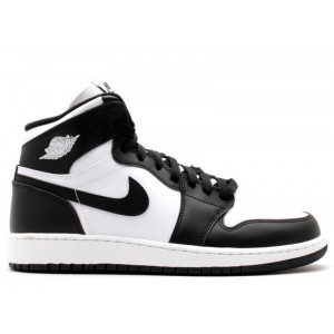Air Jordan 1 Retro High Og Bg Gs Black White 575441 010