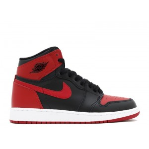 Air Jordan 1 Retro High Og Bg GS Banned 2016 Release 575441 001