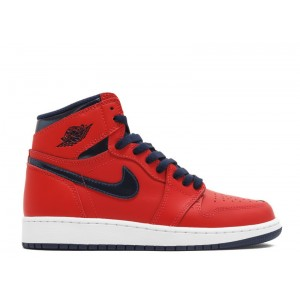 Air Jordan 1 Retro High Og Bg GS David Letterman 575441 606