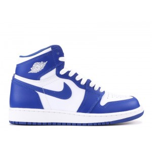 Air Jordan 1 Retro High Og Bg GS Storm Blue 575441 127