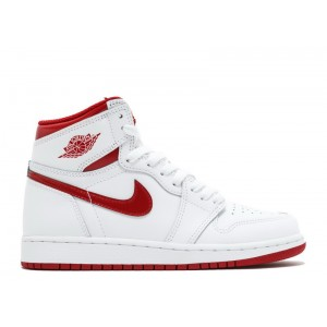 Air Jordan 1 Retro High Og Bg gs Varsity Red 2017 Release 575441 103