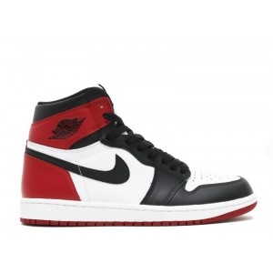 Air Jordan 1 Retro High Og Black Toe 2016 Release 555088 125