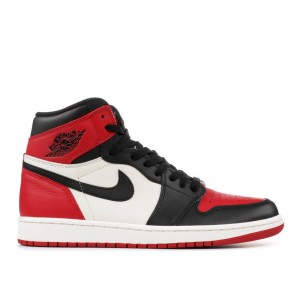 Air Jordan 1 Retro High OG Bred Toe 555088 610