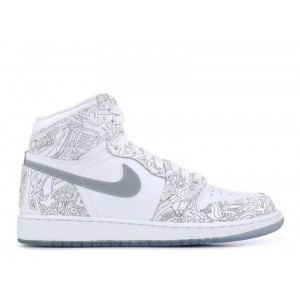Air Jordan 1 Retro High OG Laser 30th Anniversary BG GS 705290 100