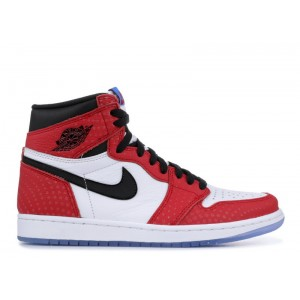 Air Jordan 1 Retro High OG Spider Man Special Edition 555088 602A
