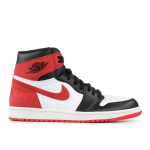 Air Jordan 1 Retro High Og Track Red 555088 112