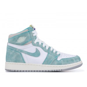 Air Jordan 1 Retro High OG Turbo Green GS Womens 575441 311