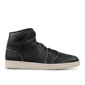 Air Jordan 1 Retro High Prem Black Desert Sand AA3993 021
