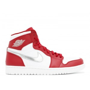 Air Jordan 1 Retro High Silver Medal Mens 332550 602