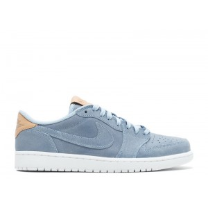Air Jordan 1 Retro Low OG Prem Ice Blue 905136 402