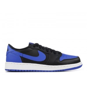 Air Jordan 1 Retro Low Og Black Varsity Rotyal BG 709999 004