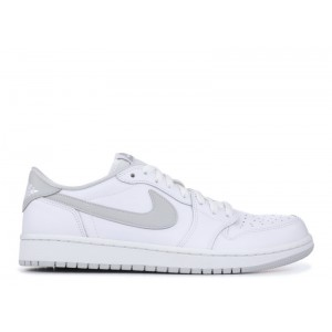Air Jordan 1 Retro Low Og White Neutral Grey 705329 100