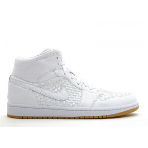 Air Jordan 1 Retro Premier Woven Mens 353899 101