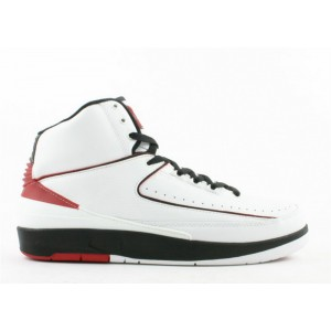 Air Jordan 2 Retro White Varsity Red 2004 308308 161 Hot Sale