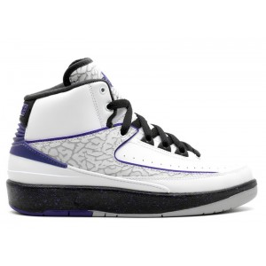 Air Jordan 2 Retro Concord GS Women's 395718 153