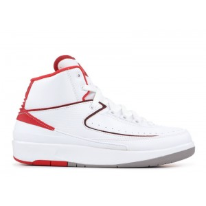 Air Jordan 2 Retro White Varsity GS 395718 102