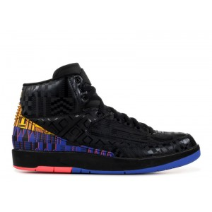Air Jordan 2 Retro BHM Black History Month bq7618 007
