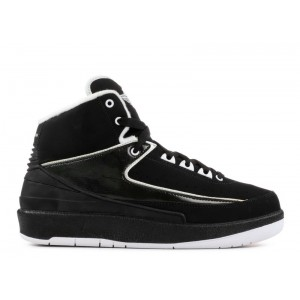 Air Jordan 2 Retro Qf Black White 395718 001