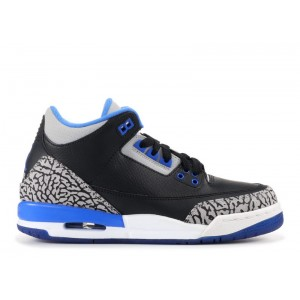 Air Jordan 3 Retro Sport Blue GS 398614 007