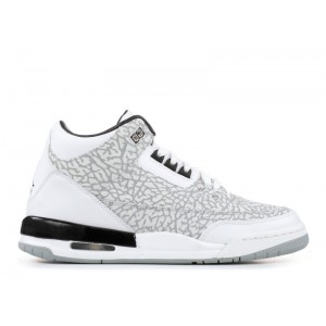 Air Jordan 3 Retro Flip White GS Womens 315768 101