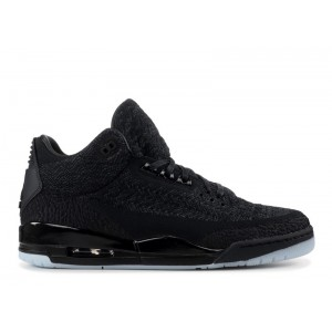 Air Jordan 3 Retro Flyknit Black AQ1005 001
